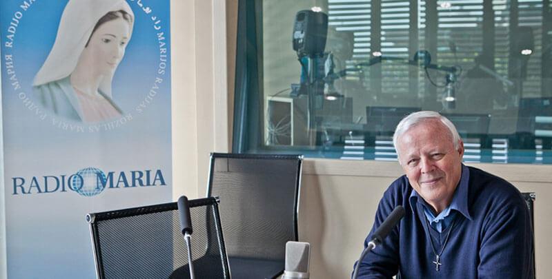 Padre Livio Fanzaga Radio Maria editoriale