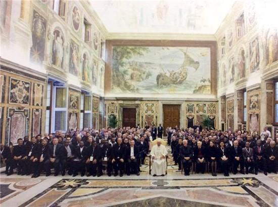 Padre Livio Radio Maria incontro Papa Francesco 2015 2