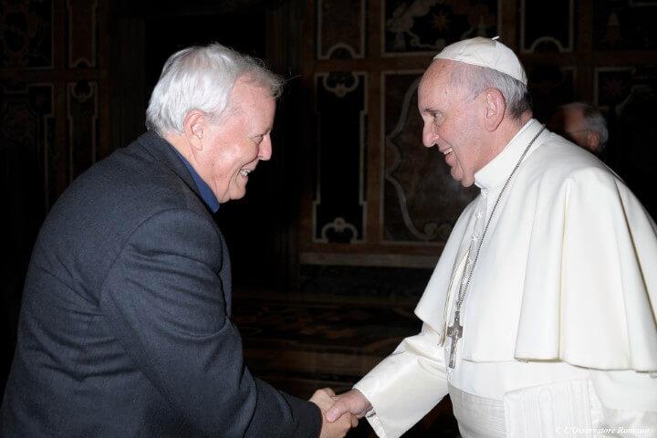Padre Livio Radio Maria incontro Papa Francesco 2015