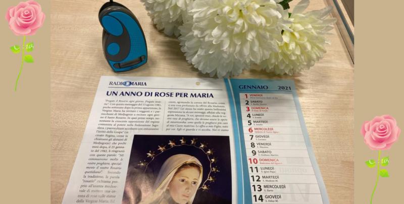 Calendario Medjugorje 2021 IL CALENDARIO DI RADIO MARIA PER L'ANNO 2021!!!   Radio Maria