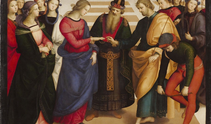 Giuseppe e il matrimonio con Maria