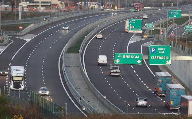 Traffico in Brebemi dopo l'apertura del collegamento A4 a Brescia