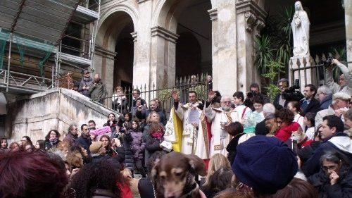 La preghiera di piazza Vittorio