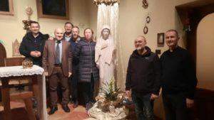 Foto di gruppo Marija di Medjugorje e il Presidente Vittorio Viccardi4