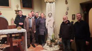 Foto di gruppo Marija di Medjugorje e il Presidente Vittorio Viccardi7