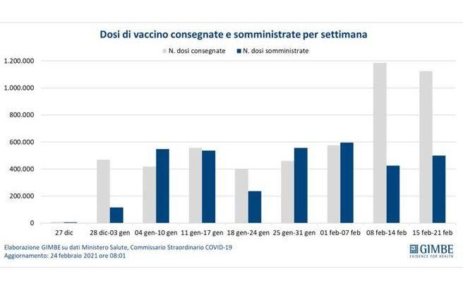 Gimbe vaccino