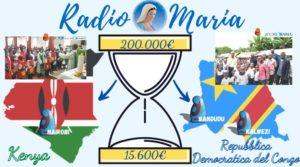 Clessidra Radio Maria Repubblica Democratica del Congo e Kenya 30-04-21