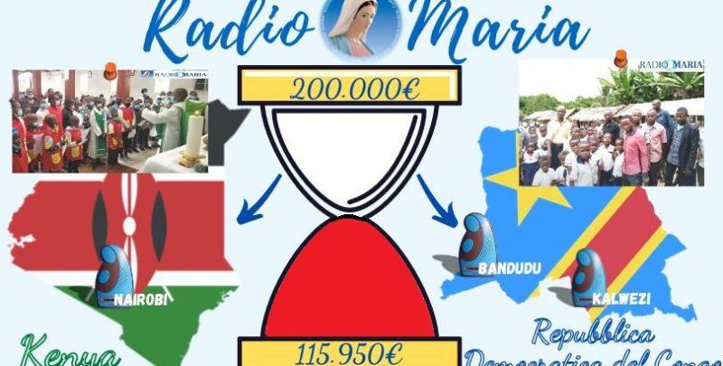 Clessidra Radio Maria Repubblica Democratica del Congo e Kenya 07-05-21