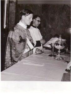 P. Livio giovane sacerdote