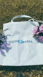 Borsa in tela di Radio Maria